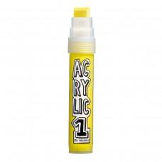 Профессиональный акриловый маркер Neuland AcrylicOne BIG, желтый (АС506)