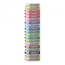 Набор профессиональных акриловых маркеров Neuland AcrylicOne BIG, 19 цветов