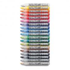 Набор профессиональных акриловых маркеров Neuland AcrylicOne MEDIUM, 19 цветов