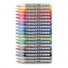 Набор профессиональных акриловых маркеров Neuland AcrylicOne FINE, 19 цветов