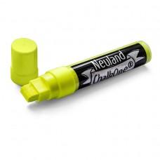 Профессиональный меловой маркер Neuland ChalkOne® 5-15 мм, (С506) желтый