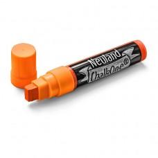 Профессиональный меловой маркер Neuland ChalkOne® 5-15 мм, (С509) оранжевый