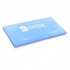 Электростатические карточки Estatics L (голубые)