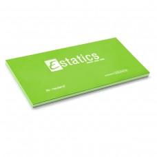 Электростатические карточки Estatics L (зеленые)