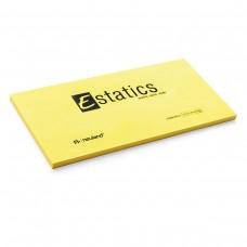 Электростатические карточки Estatics L (желтые)