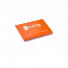 Электростатические карточки Estatics M (оранжевые)