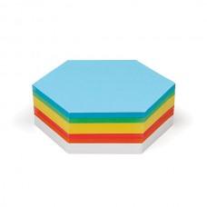 """Карточки для модерации """"Шестиугольник"""" (250 л)"""