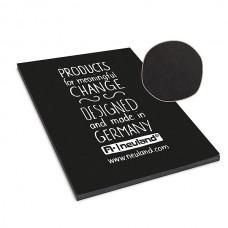 Блокнот из черной бумаги МyNotepad, black