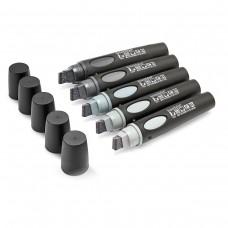 Набор  серых маркеров BigOne®, 5 цветов