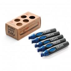 Набор профессиональных маркеров Neuland BigOne®, 5 шт синие