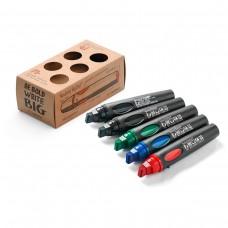 Набор профессиональных маркеров Neuland BigOne®, 4 цвета (5 шт)