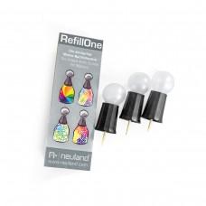 Сменные крышки для бутылки Neuland RefillOne, 3 шт.