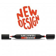 Двухсторонний маркер Neuland TwinOne®, красно-оранжевый (601)