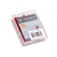 Канцелярские кнопки для пинборда, красные