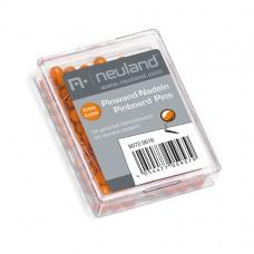 Канцелярские кнопки для пинборда, оранжевые