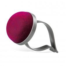 Подушка для иголок PinCushion с зажимом для запястья (малиновая)