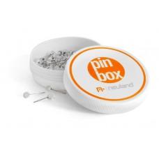 Магнитная коробочка PinBox с канцелярскими кнопками