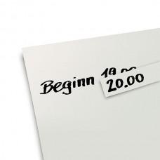 Самоклеющиеся коррекционные стикеры (белые)