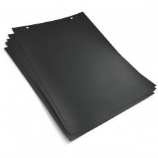 Черная бумага для настольного мини-флипчарта  (20 л)