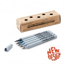 Набор профессиональных серых маркеров-кистей Neuland FineOne® Art, 5 шт