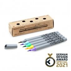 Набор профессиональных маркеров-кистей Neuland FineOne® Art, 5 шт