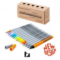 Набор профессиональных маркеров-кистей Neuland FineOne® Art, 15 шт