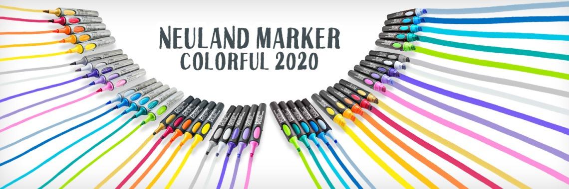 Neuland Marker Colorful 2020