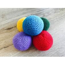 Набор вязаных мячиков (5шт)